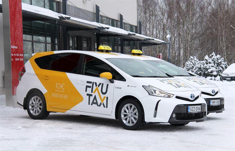Taksiyrittäjän Kulut